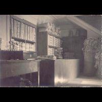 Foto storica dell'interno del Negozio